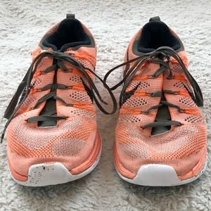 Nike Flyknit One Peachy-Orange Running Shoes